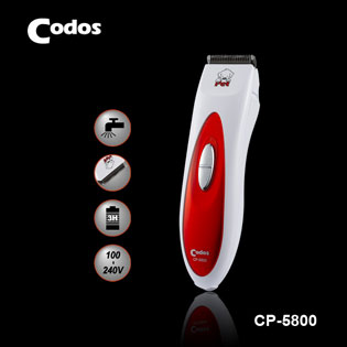 Máy Cắt Lông Chó Codos CP 5800, Codos, tông đơ cắt tóc codos, tông đơ, tăng đơ, tông đơ cắt tóc, máy cắt tóc