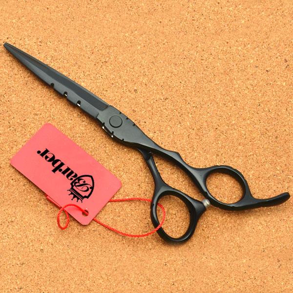 Kéo cắt tóc Barber WOLF đen BW-602