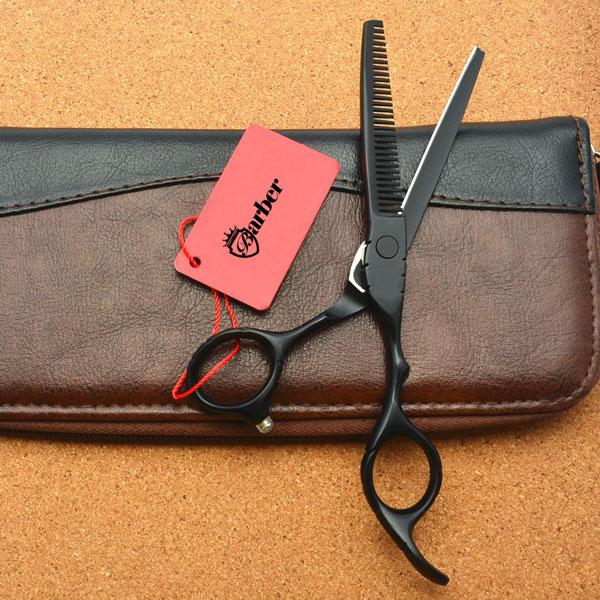 Kéo tỉa tóc Barber WOLF đen BW-602, Codos, tông đơ cắt tóc codos, tông đơ, tăng đơ, tông đơ cắt tóc, máy cắt tóc