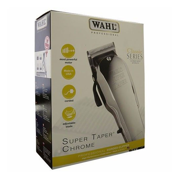 Tông đơ Wahl Super Taper Chrome 110v