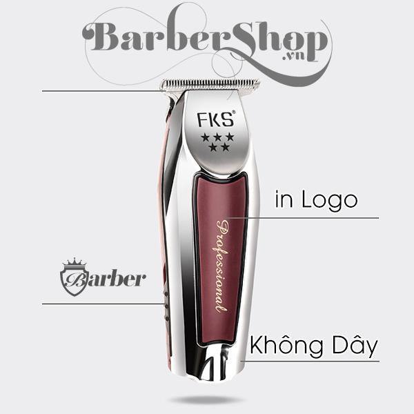 Tông Đơ viền Barber Professional Không Dây