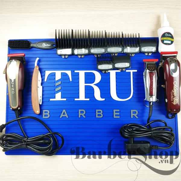 Thảm Su Để Đồ Nghề Barber, Codos, tông đơ cắt tóc codos, tông đơ, tăng đơ, tông đơ cắt tóc, máy cắt tóc