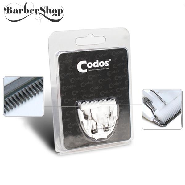 Lưỡi tông đơ Codos CHC-802-805-806, Codos, tông đơ cắt tóc codos, tông đơ, tăng đơ, tông đơ cắt tóc, máy cắt tóc