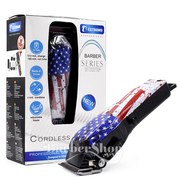 Tông đơ không dây Barber Flag USA, Codos, tông đơ cắt tóc codos, tông đơ, tăng đơ, tông đơ cắt tóc, máy cắt tóc